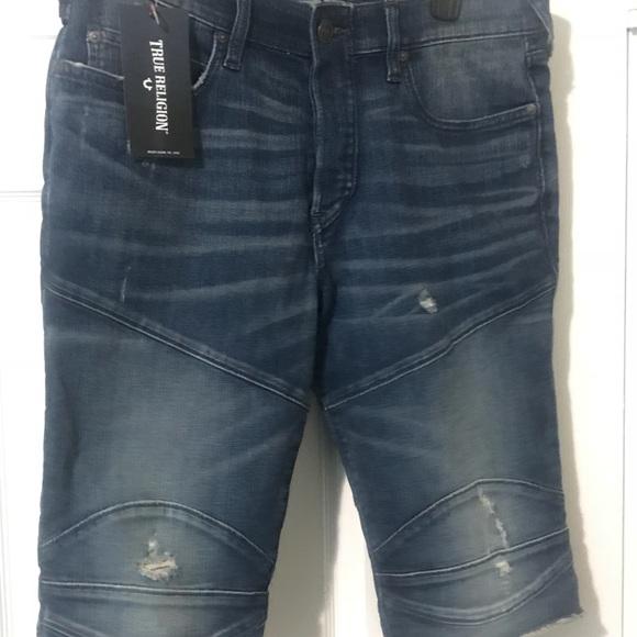 5f41d071dd True Religion Shorts | Mens Nwt Rocco Biker | Poshmark